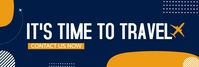 travel and tour Banner di LinkedIn template