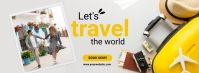 travel and tour Facebook Cover Photo template
