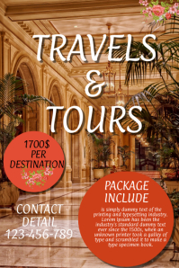 travel and tour flyer,small business flyer