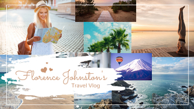 Travel Blog Youtube Channel Art