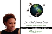 Travel Business Owner Poster template
