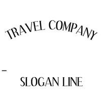 Travel Company Animated Logo Template Logotipo