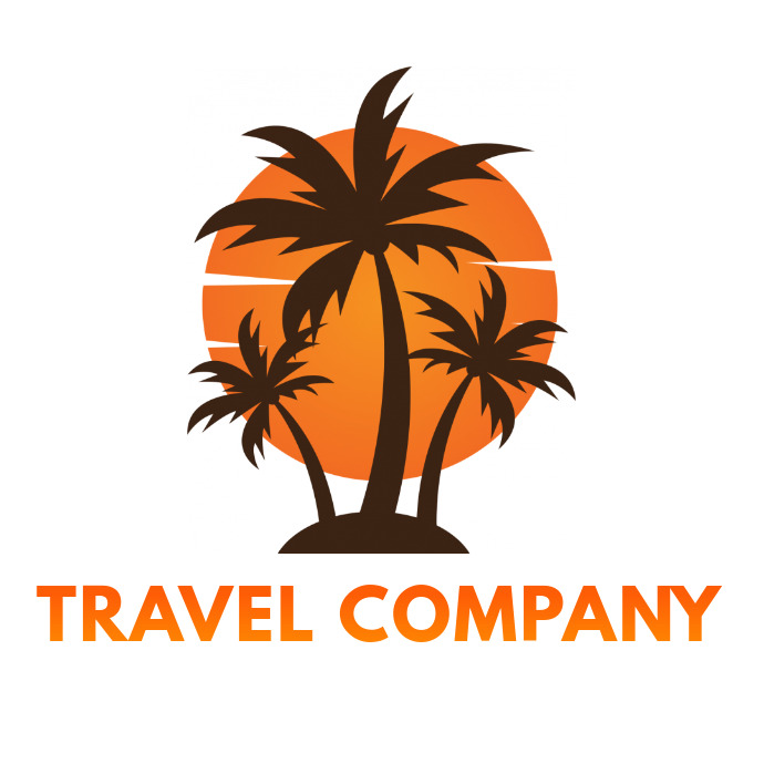 Travel Company Business Logo Template