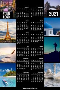 Travel company calendar