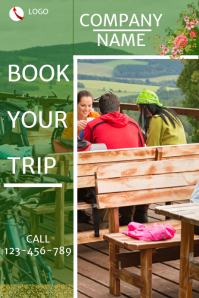 Travel company flyer,small business flyer