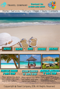 Travel Company Website Template