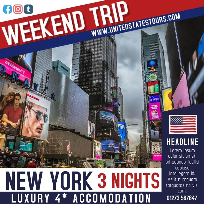 Travel Deal Instagram Template
