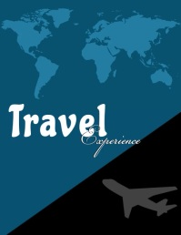 Travel Flyer (US Letter) template