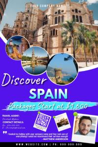 Travel Plakat template