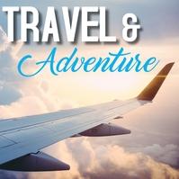 Travel Message Instagram template