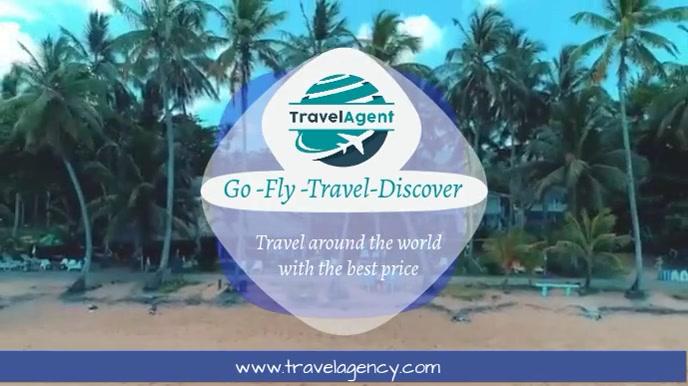 travel Pantalla Digital (16:9) template