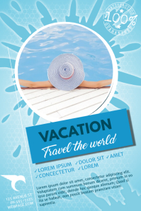 Travel Flyer Template for Travel Agency