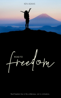 Travel freedom Book Cover Template Portada de Kindle