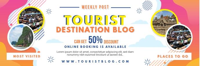 Travel Influencer Blog Email Header