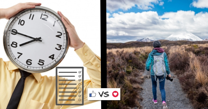Travel Itinerary vs Free Facebook Event Cover template