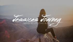 Travel Lifestyle Blog Header Template 博客标题