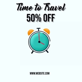 travel package ad SOCIAL MEDIA TEMPLATE