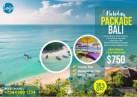 Travel Package Postcard