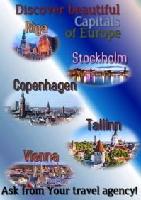 Travel poster - visit Europe
