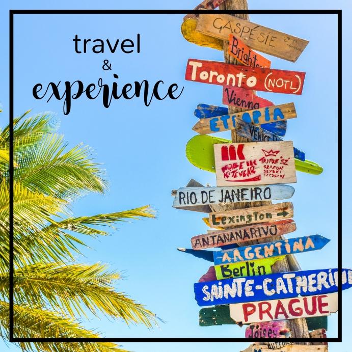 Travel Poster สี่เหลี่ยมจัตุรัส (1:1) template
