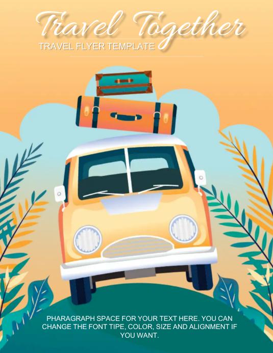 Travel Poster flyer Design Template