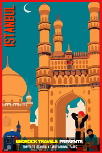Travel Poster Template