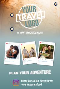 Travel Poster Millennials