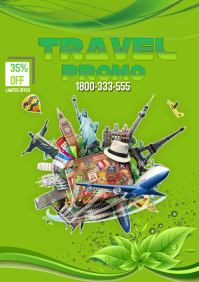 TRAVEL PROMO A4 template