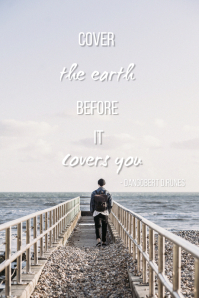 Travel quote Tumblr-afbeelding template