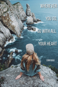 Travel quote Tumblr Grafieka template