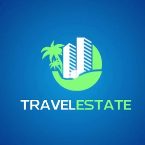 TRAVEL REAL ESTATE VIDEO LOGO SOCIAL MEDIA