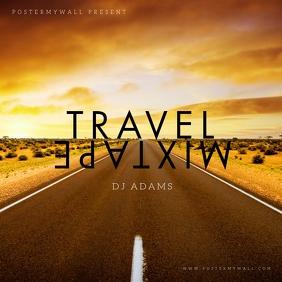 Travel Road Mixtape Album Cover Template Albumcover