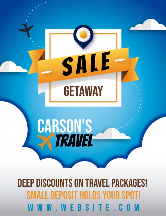 Travel Sale Flyer