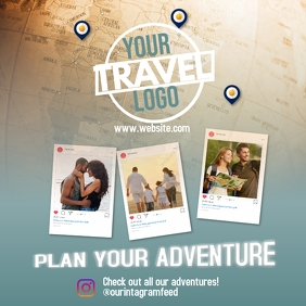 Travel Sale Instagram post