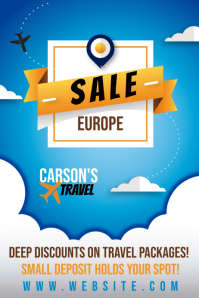 Travel Sale Poster
