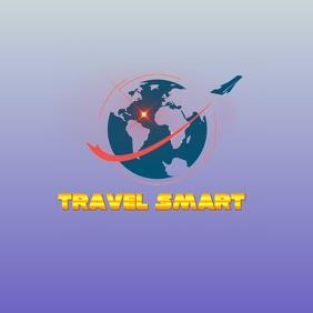 travel smart logo template