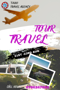 TRAVEL TEMPLATE Poster