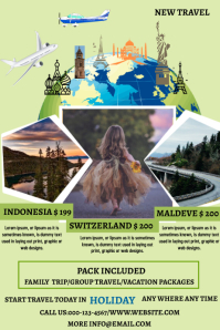 TRAVEL TEMPLATE FLYER