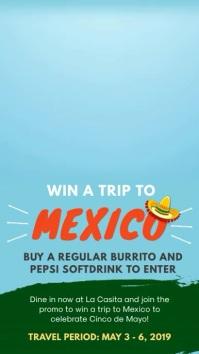 Travel to Mexico Digital Display Ad