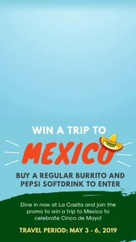Travel to Mexico Digital Display Ad