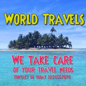 Travel video graphics