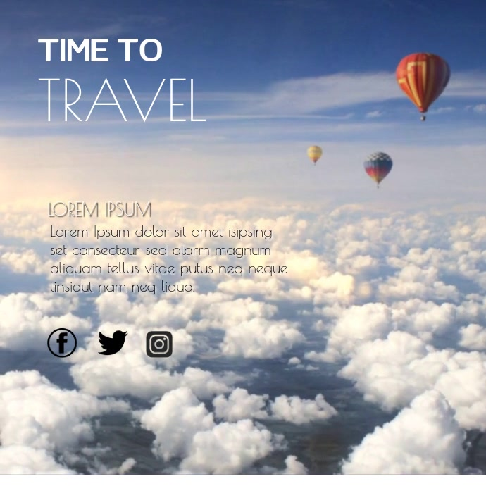TRAVEL VIDEO TEMPLATE