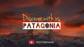 Travel Vlog YouTube Channel Art Template