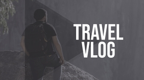 Travel Vlog Youtube Thumbnail