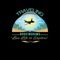 Traveling Animated Logo Logotipo template