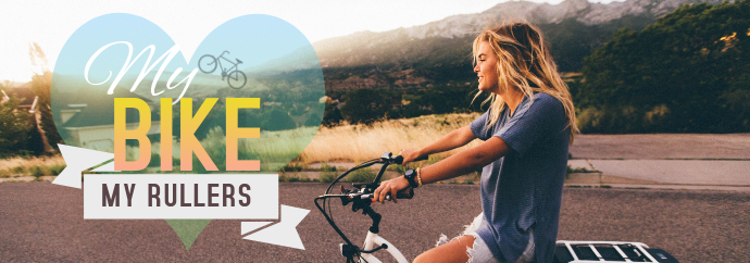 Traveling Bike Tumblr Banner template