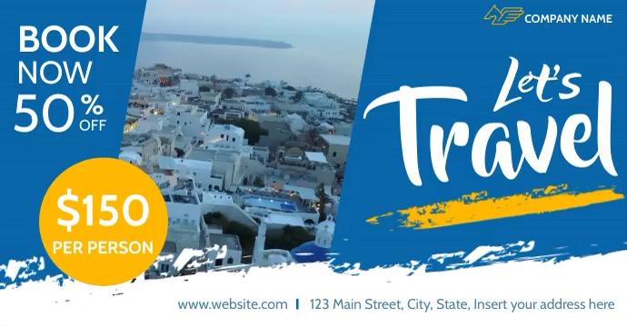 traveling facebook advertising Umkhangiso we-Facebook template