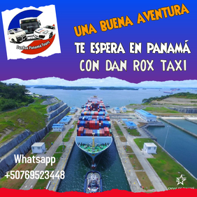 travell panamá Pos Instagram template