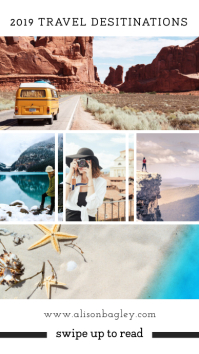 Travellogue New Blog Post Instagram Story template