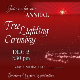 Tree Lightning Ceremony